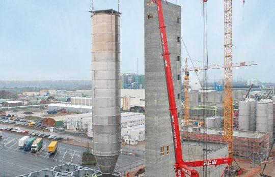 Autodienst-West-Frankfurt-Baustelle