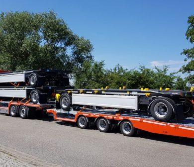 FVG Zug, Schwertransporte, Krandienst, Autododienst Frankfurt