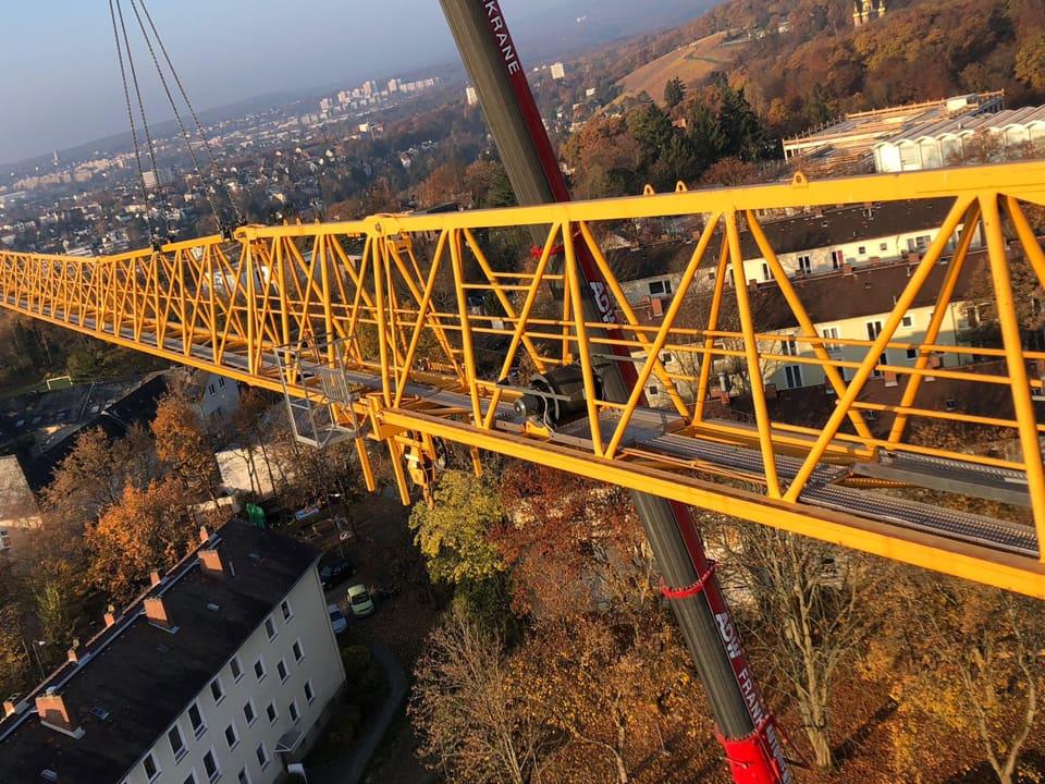 Perfekte Kranlogistik mit Autodienst-West-Ganske in Frankfurt & Region