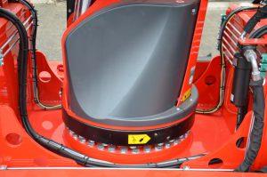 Flache Drehkranzadaption für geringe Bauhöhe beim Elektrokran von ADW