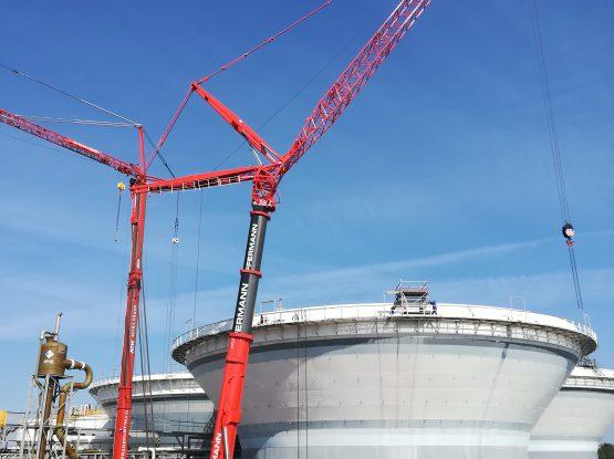 Instsandsetzungsarbeiten Chemiewerk Autodienst West und Hüffermann