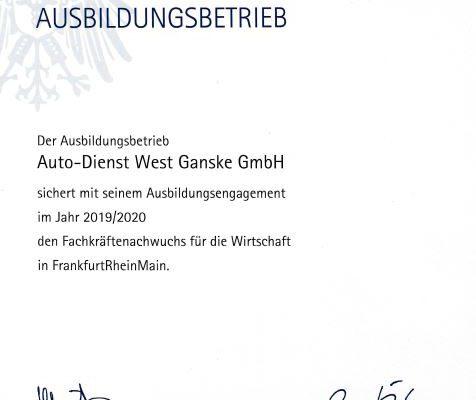 Ausbilder - Ausbildung bei Autodienst-West - Krandienstleister Frankfurt