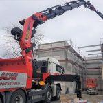 Motnagearbeiten-Bauarbeiten-Ladekran mieten Frankfurt-ADW