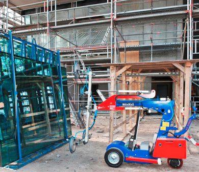 KS-Robot- Glasroboter für Glasmontage Rhein-Main-Frankfurt ADW