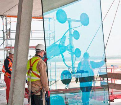 Glaslifter - Glasroboter- mieten in Frankfurt von ADW
