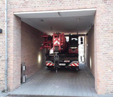 Kranvermietung Frankfurt - LTC 1045 Citykran ADW