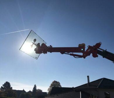 Fenstermontage - Glasmontage - Glasmanipulator - ADW Krandienst