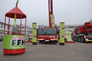 FFH bei Krandienst ADW Frankfurt - Kranarbeiten - Challenge