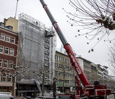 Baustellenabsicherung - Verkehrssicherung - ADW Frankfurt