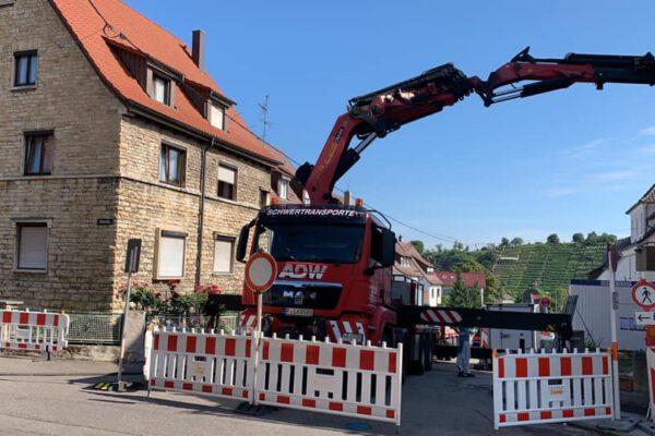 Baustellensicherung - Absperrtechnik Frankfurt ADW